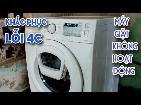 Cách Khắc Phục Lỗi 4C Máy Giặt Samsung Không Hoạt Động