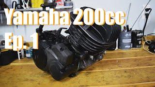 Yamaha 200cc Engine Build Part 1