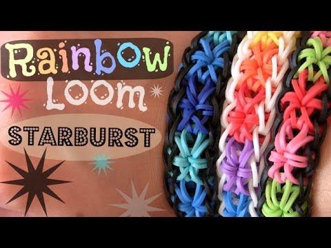 rainbow-loom-:-starburst-bracelet---how-to- -socraftastic