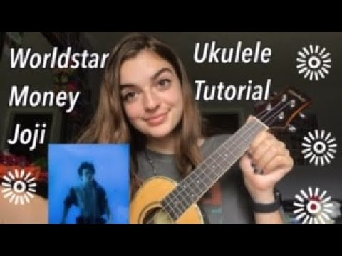 chords of og worldstar money before it was pitched down in the final version press j to jump to the feed. Joji Worldstar Money Easy Ukulele Tutorial With Chords Lyrics Youtube
