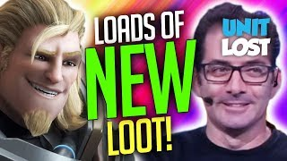 Overwatch News - LOADS of NEW Loot! Jeff Kaplan on Major Loot Box Update!
