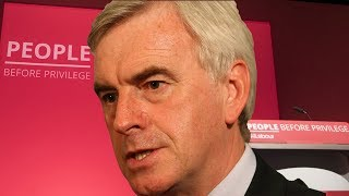 LIVE: John McDonnell addresses Labour Party Conference 2019
