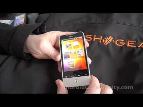 HTC Legend hands-on video mwc2010