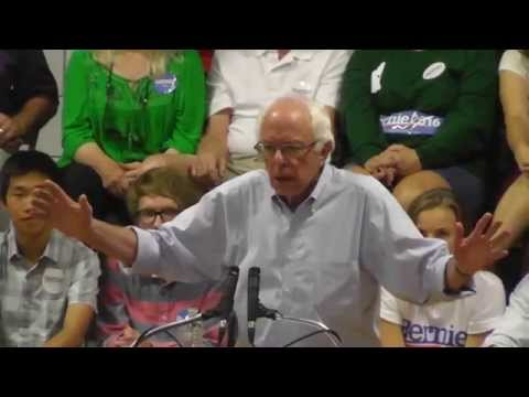 Bernie Sanders August 24,  2015 Conway, NH  (Full Speech) Part 1 New Hampshire