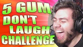 5 GUM DON'T LAUGH CHALLENGE! EL MEJOR EN MUCHO TIEMPO!