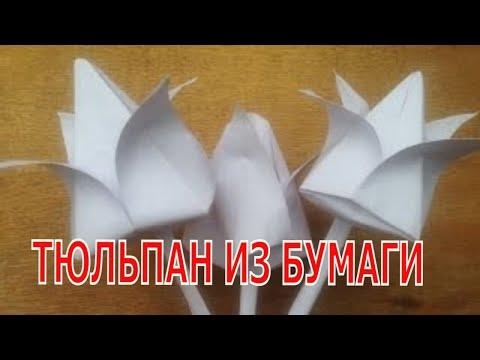 Как можно сделать из бумаги цветок