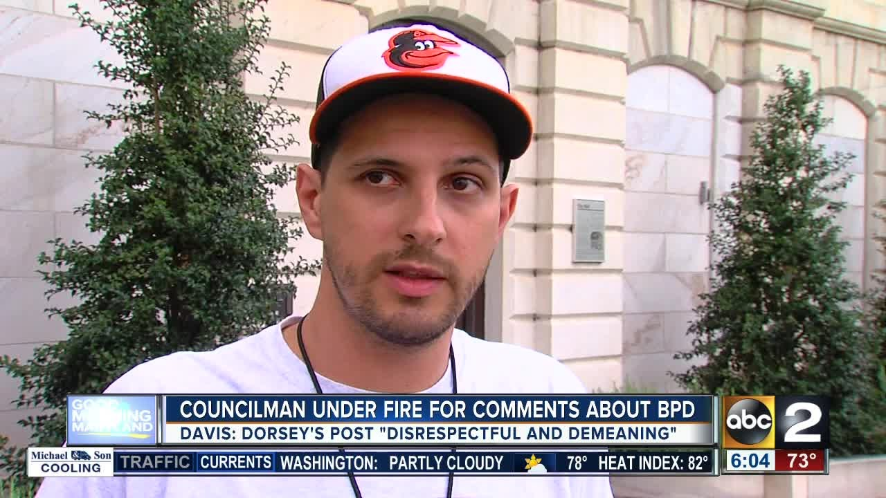 City Councilman Ryan Dorsey under fire over comments about ...