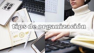 REGRESO A CLASES: TIPS DE ORGANIZACIÓN PARA LA UNIVERSIDAD/COLEGIO   sofiapricot