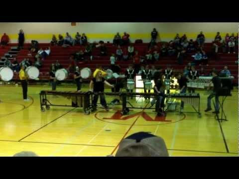 Marion High School Winter Drumline 11/30/12