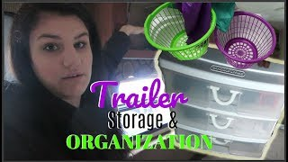 How I Organize My Camper Trailer! | Our Lives, Our Reasons, Our Sanity