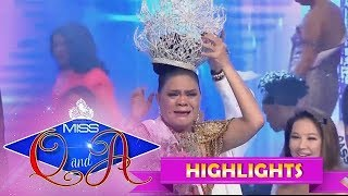 It's Showtime Miss Q & A Grand Finals: Juliana Parizcova Segovia is the Miss Q and A grand winner