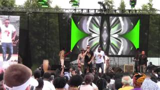 Bracket - Mama Africa & Beautiful Baby Live at Afrofest 2017 - Woodbine Park Toronto 7-9-17