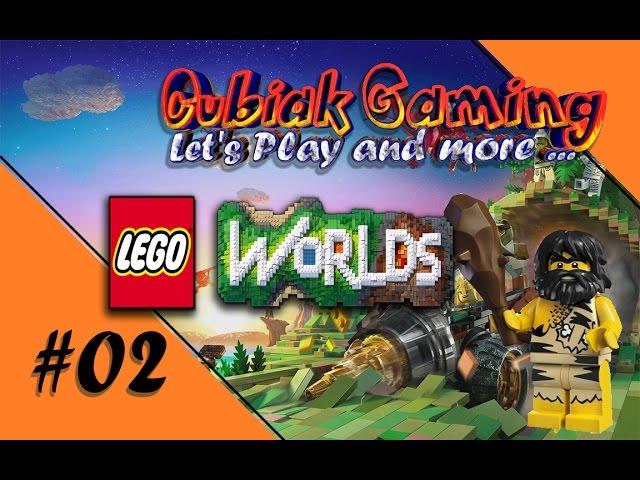 STECKT FEST! DU RETTEN! ★ Let's Play LEGO Worlds #002