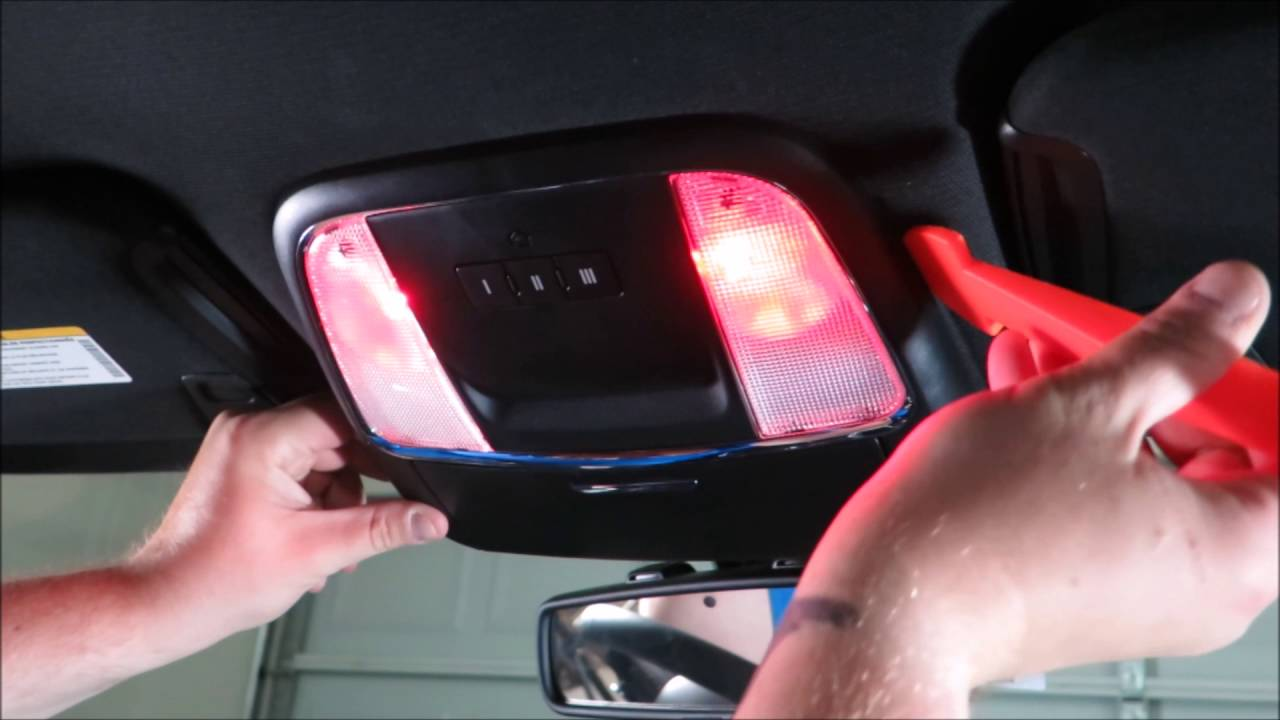 2015 2016 Dodge Charger The Easy Way To Replace The Map Lights Youtube