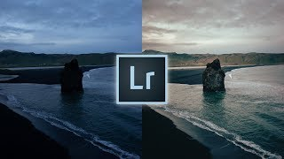 How to Edit Gold & Blue Landscapes Lightroom Tutorial For Instagram Landscape Moody Edit
