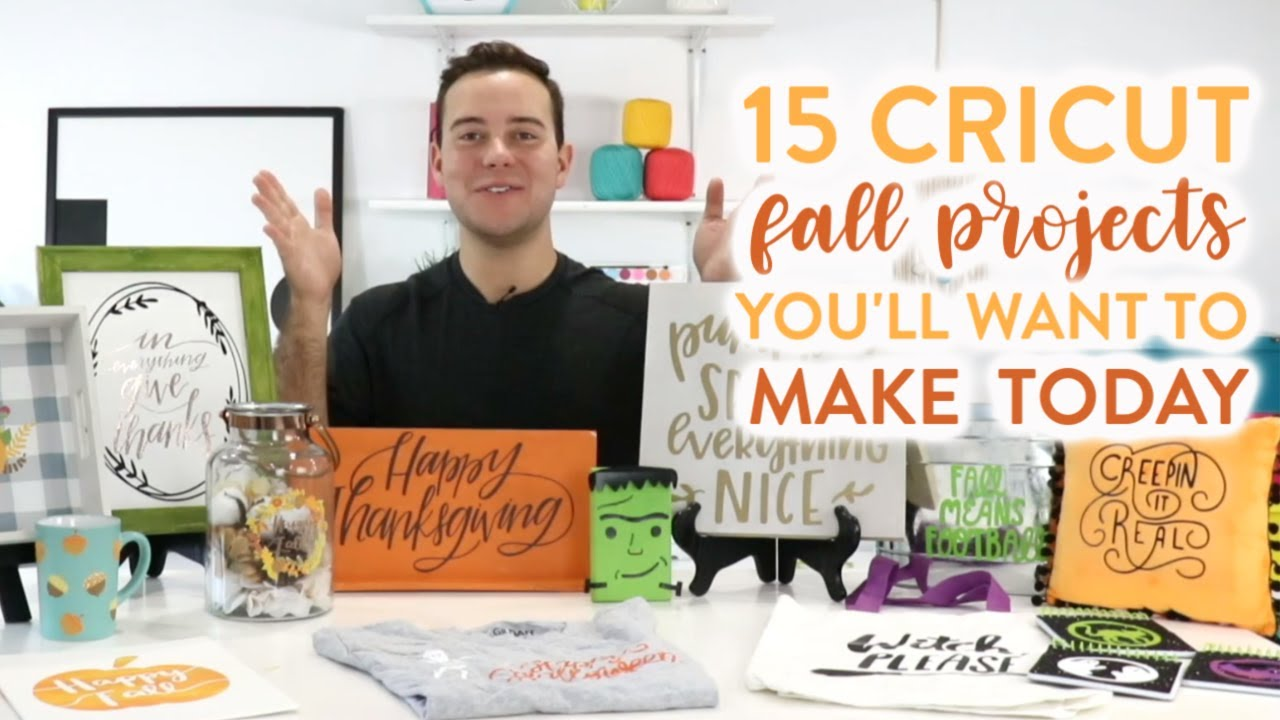 15 Cricut Fall Projects You'll Want To Make Today