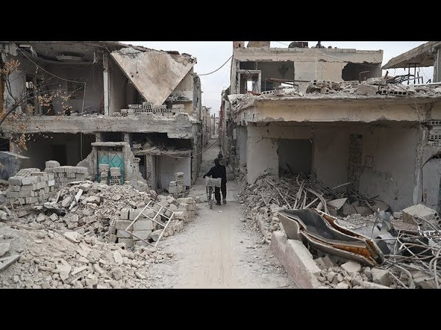 Peace talks on hold amidst bloody battles in Eastern Ghouta