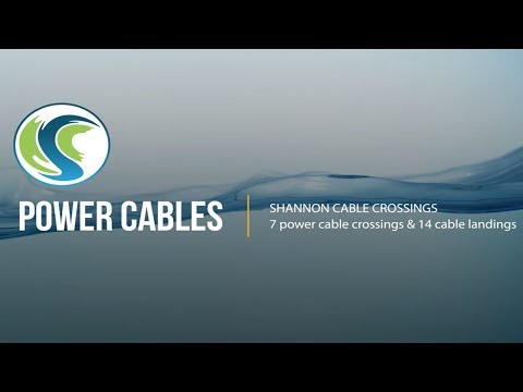 Power Cables  - Shannon cable crossings - Irish Sea Contractors