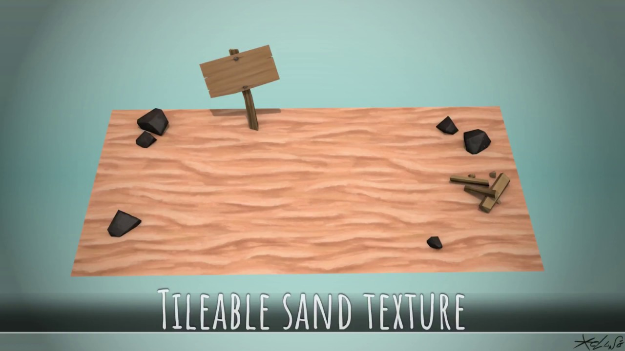 HandPainted Tileable sand texture YouTube
