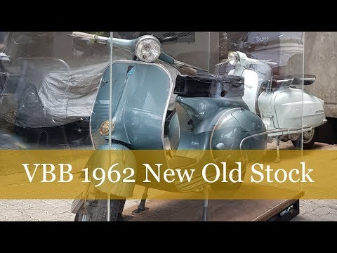 VESPA VBB 1962 New Old Stock