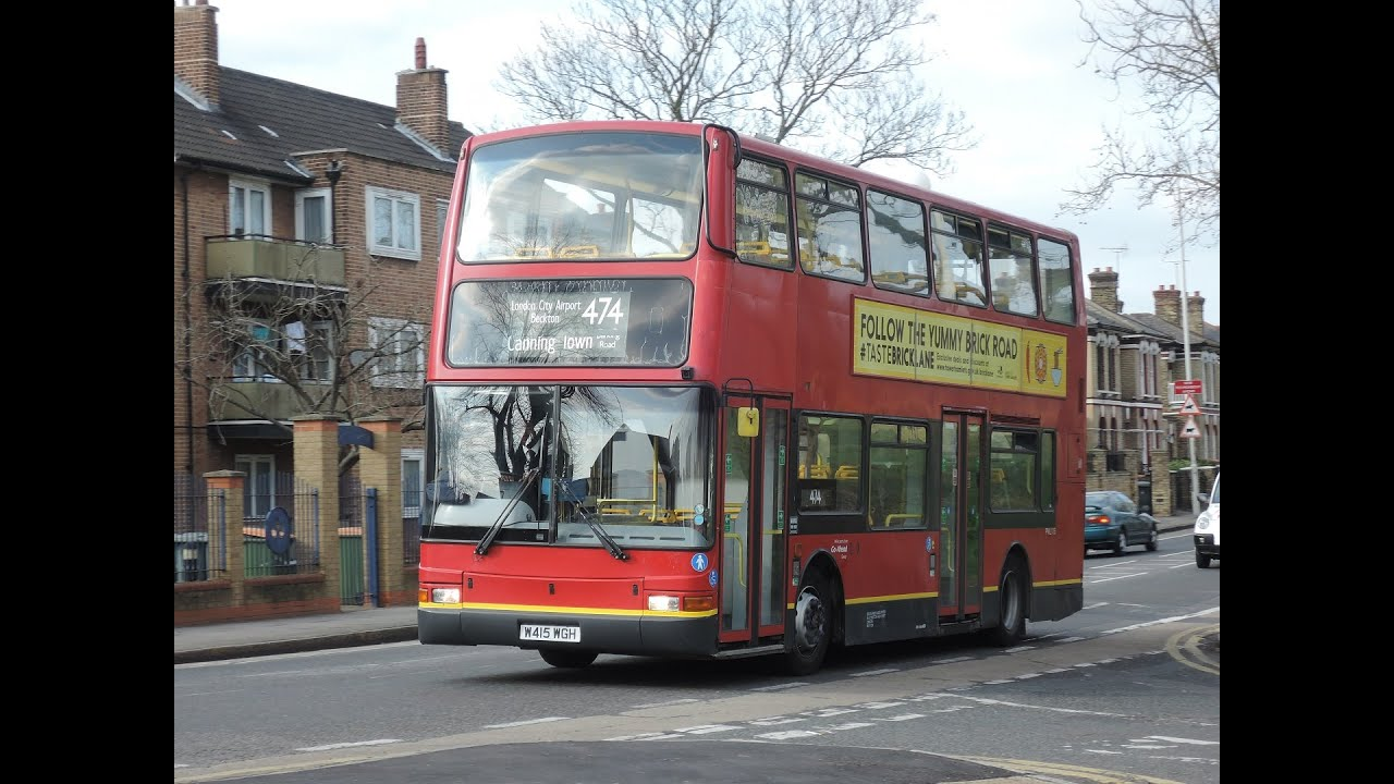 (14/3/2015) Go-Ahead London PVL115 Volvo B7TL - Route 474 - Canning Town to  Manor Park