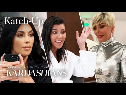 """Kim Handles Christmas Party Chaos & Kris Questions Kourtney About Scott: """"KUWTK"""" Katch-Up (S16, Ep9)"""