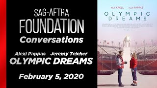 Conversations with Alexi Pappas and Jeremy Teicher of OLYMPIC DREAMS