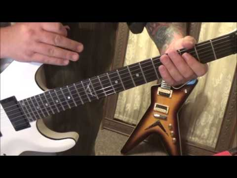 Loudness   The Lines Are Down   CVT Guitar Lesson by Mike Gross