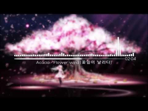 [뉴에이지 ] Flower Wind (꽃잎이 날리다) _ Acacia/ 아련한 피아노곡