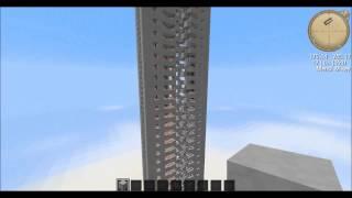 마인크래프트 매우 빠르고 높은 피스톤 엘리베이터