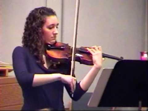 Fau, Danielle--Common Application Music Supplement