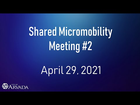 Recording of Public Meeting #2