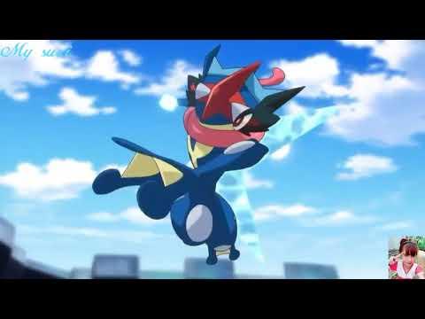 """pokemon XYZ """" chung kết trận đấu của liên minh Kalos satoshi vs Alain """""""