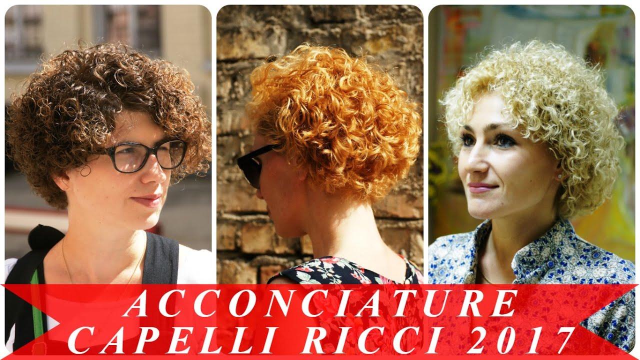 Popolare Acconciature capelli ricci 2017 - YouTube MN45