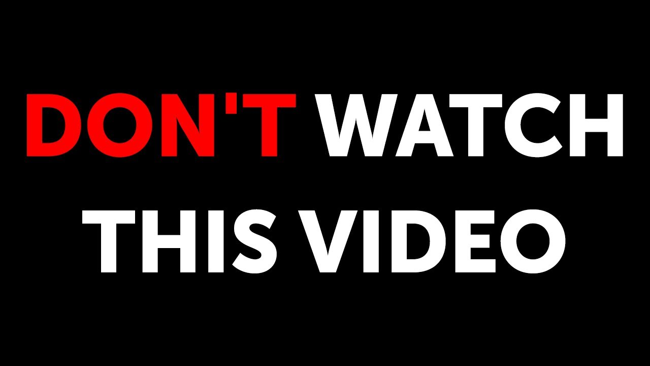 Download Don't Watch If You Can't Handle the Truth