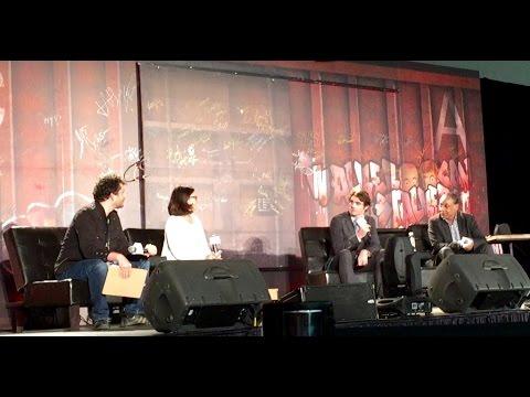 Breaking Bad Panel Discussion w/Giancarlo Esposito & RJ Mitte at Walker Stalker Con Dallas 3/15/15