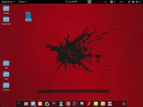 كشف الرسائل المشفره kali linux basic level 1