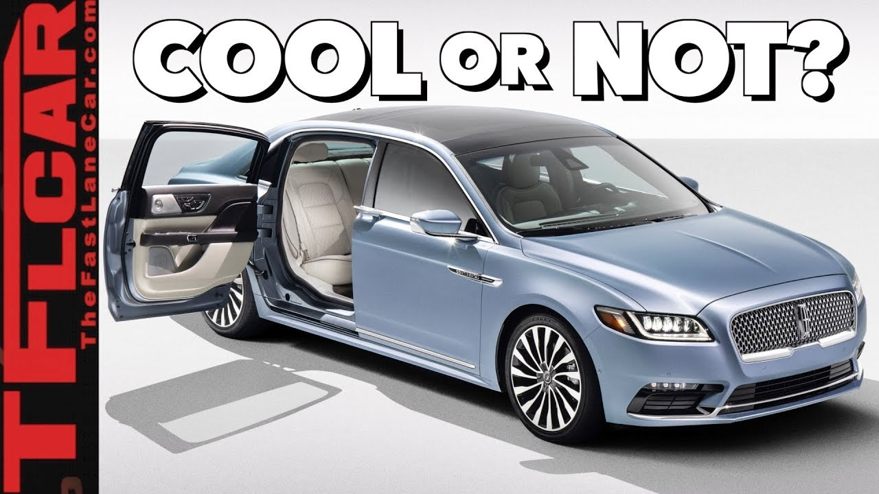 2019 Lincoln Continental Coach Door Edition Are Suicide Doors Back