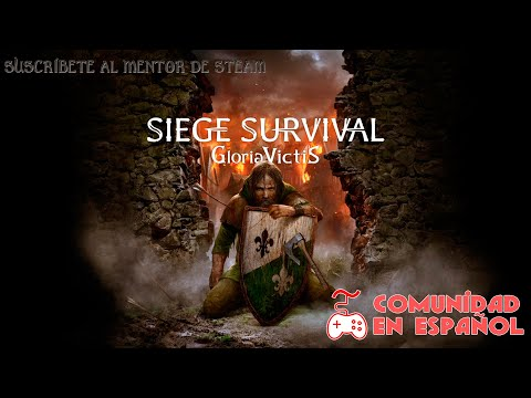 Siege Survival: Gloria Victis. Gameplay Sin Comentarios