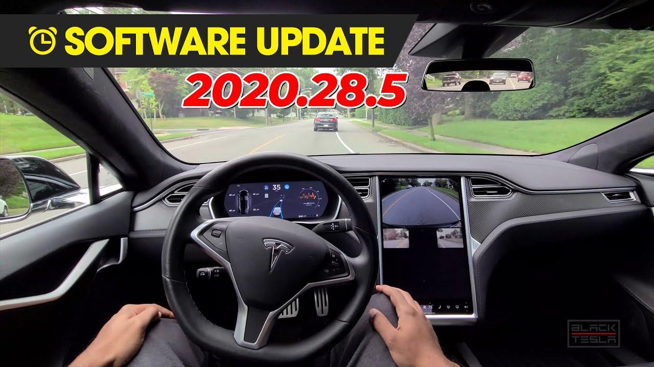 Tesla Software Update - 2020.28.5 (City Autopilot Finally Usable!!)
