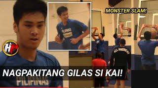 Kai Sotto nagpakitang Gilas kontra sa mga Pro players sa the Smith League|Kakampi si Cholo at Jayden