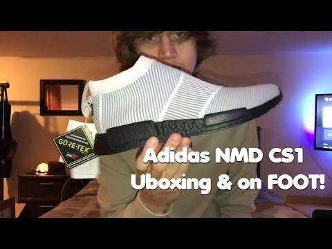 """BEST WINTER SNEAKER 2018?"" Adidas NMD CS1 Gortex Unboxing & On Foot!"