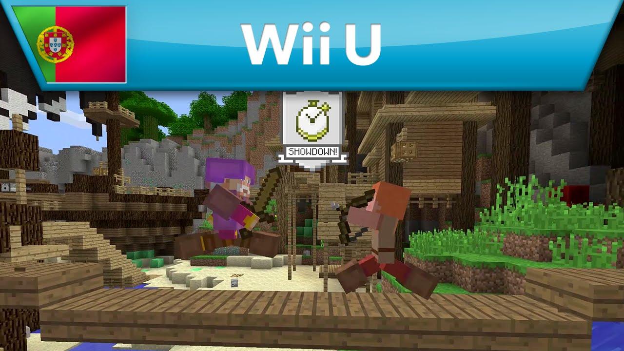 Minecraft: Wii U Edition - Minecraft Battle Mini Game