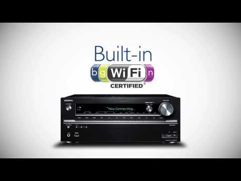 ONKYO - 2014 Network AV Receiver Built in Wifi
