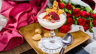 Roasted Almond Panna Cotta - Home & Family