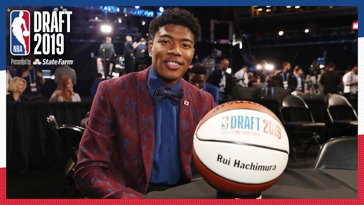 Image result for rui hachimura nba draft