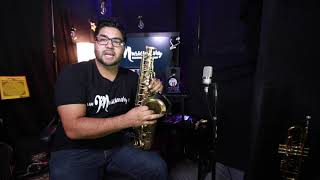 How to play the Sax 1 parts and positions. Www.churchmusiclessons.com