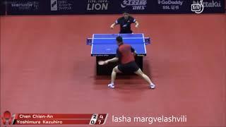 Yoshimura Kazuhiro vs Chen Chien An (Japan Open 2018)