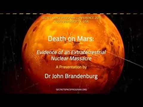Dr John Brandburg at the Secret Space Program Conference,  2015, Bastrop TX