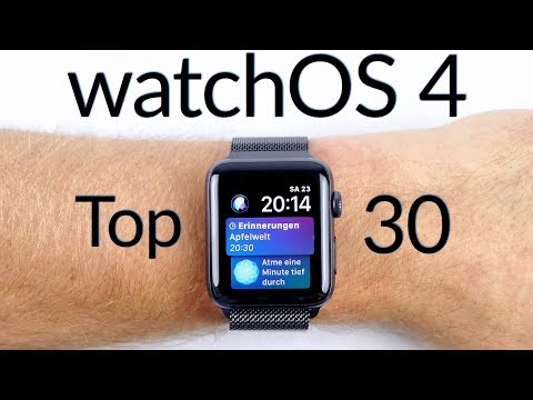 watchOS 4 - was ist neu? | Top 30 Highlights